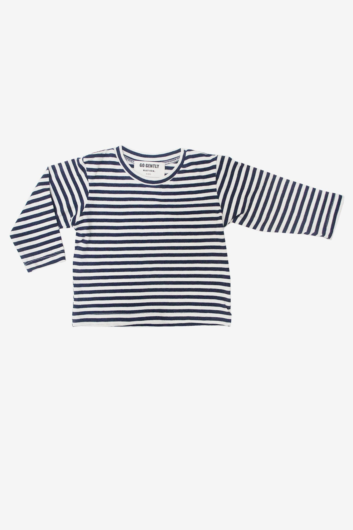 Go Gently Nation Navy Stripe Tee