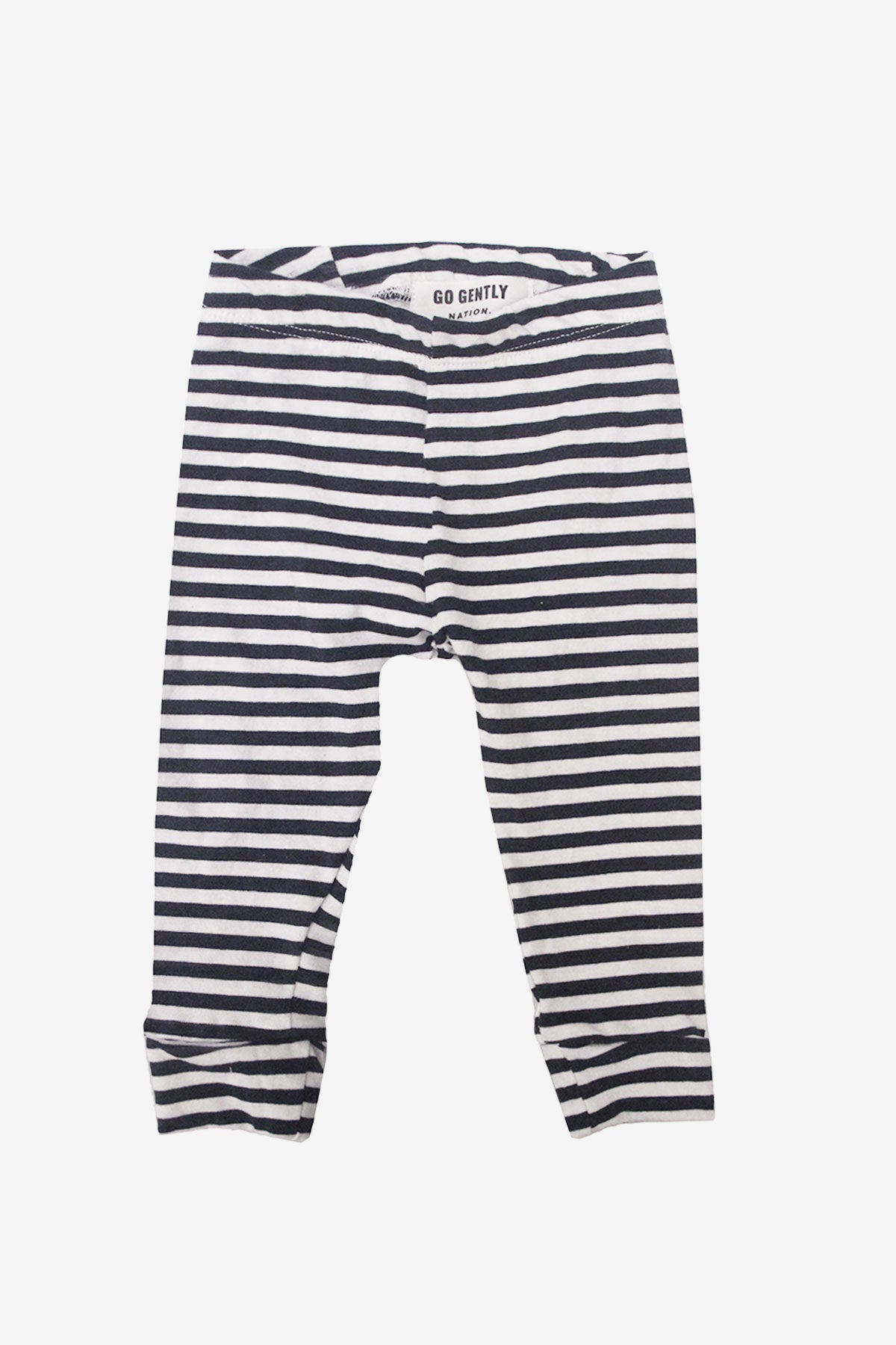 Go Gently Nation Pencil Pant - Navy Stripe