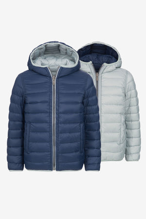 Eddie Pen Alaska Rev Jacket - Night Blue