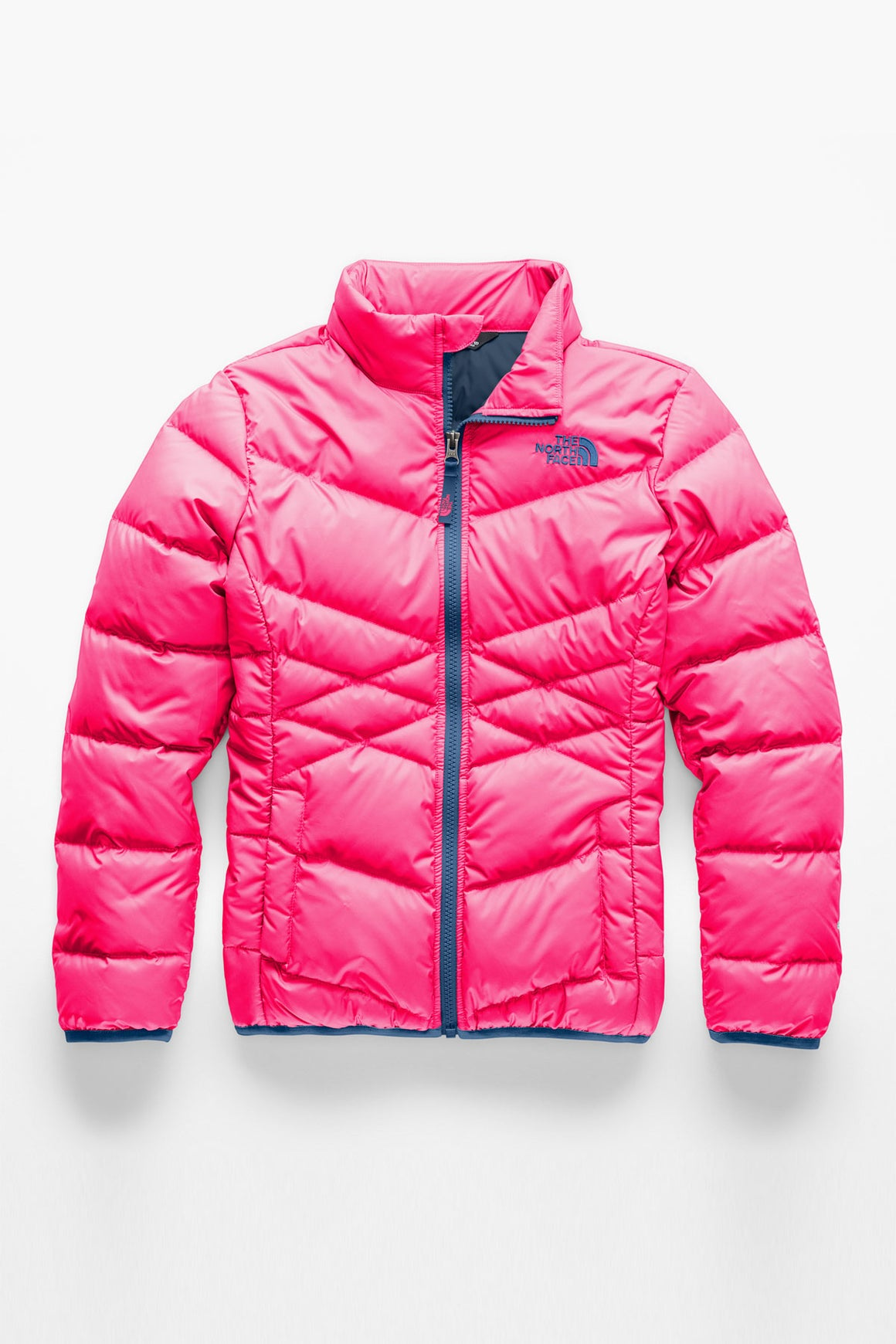 The North Face Girls Andes Down Jacket - Atomic Pink