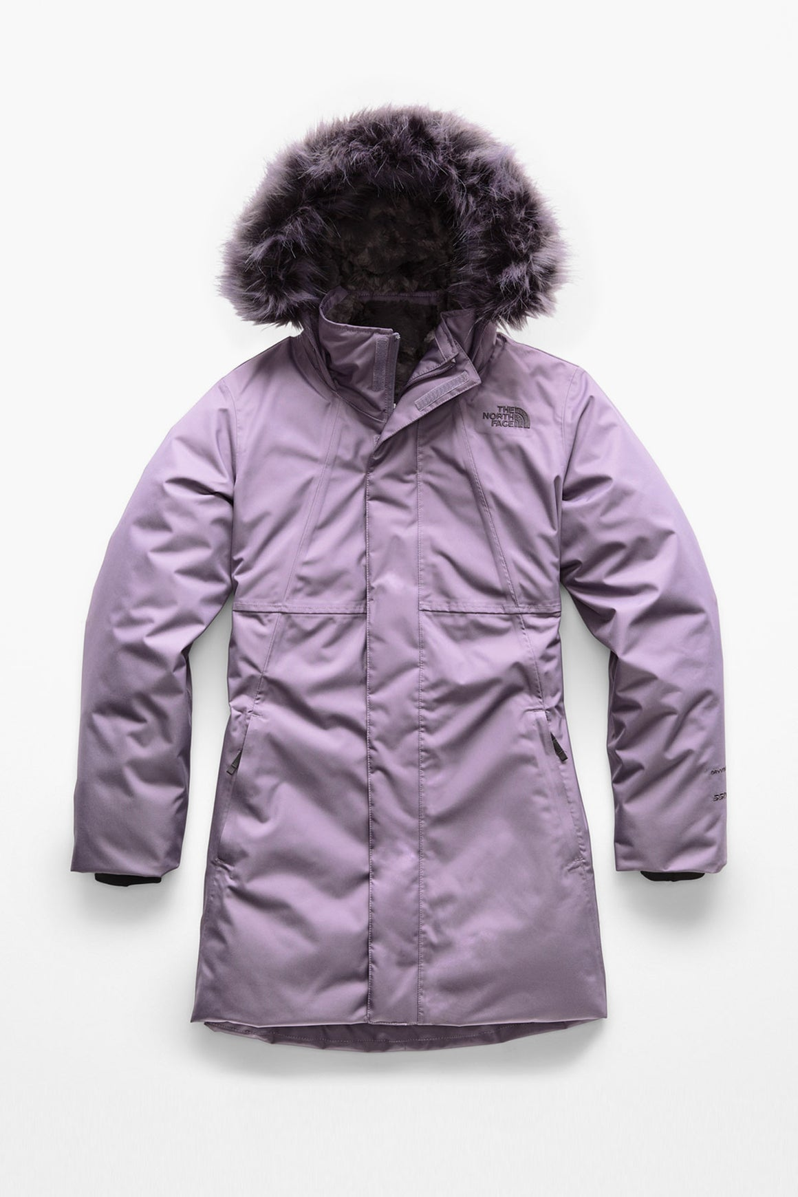 The North Face Girls Arctic Swirl Down Jacket - Purple Sage