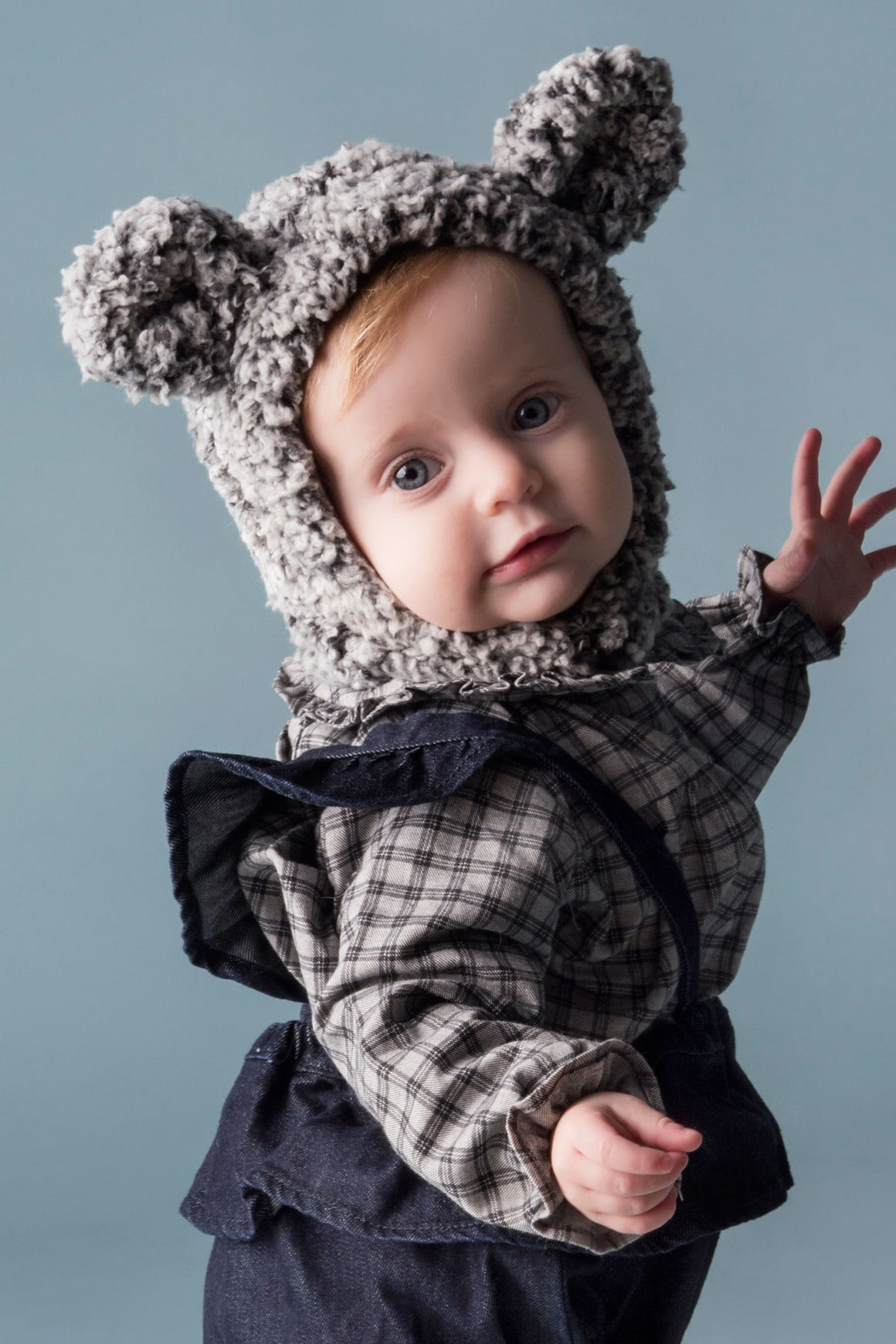 Tocoto Vintage Baby Bear Hat