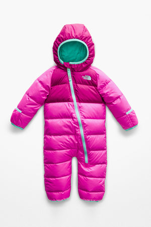 The North Face Infant Lil Snuggler Down Suit - Azalea Pink
