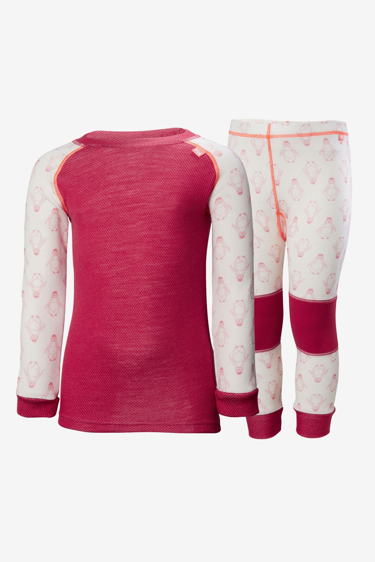 Helly Hansen Lifa Merino Baselayer Set - Persian Red
