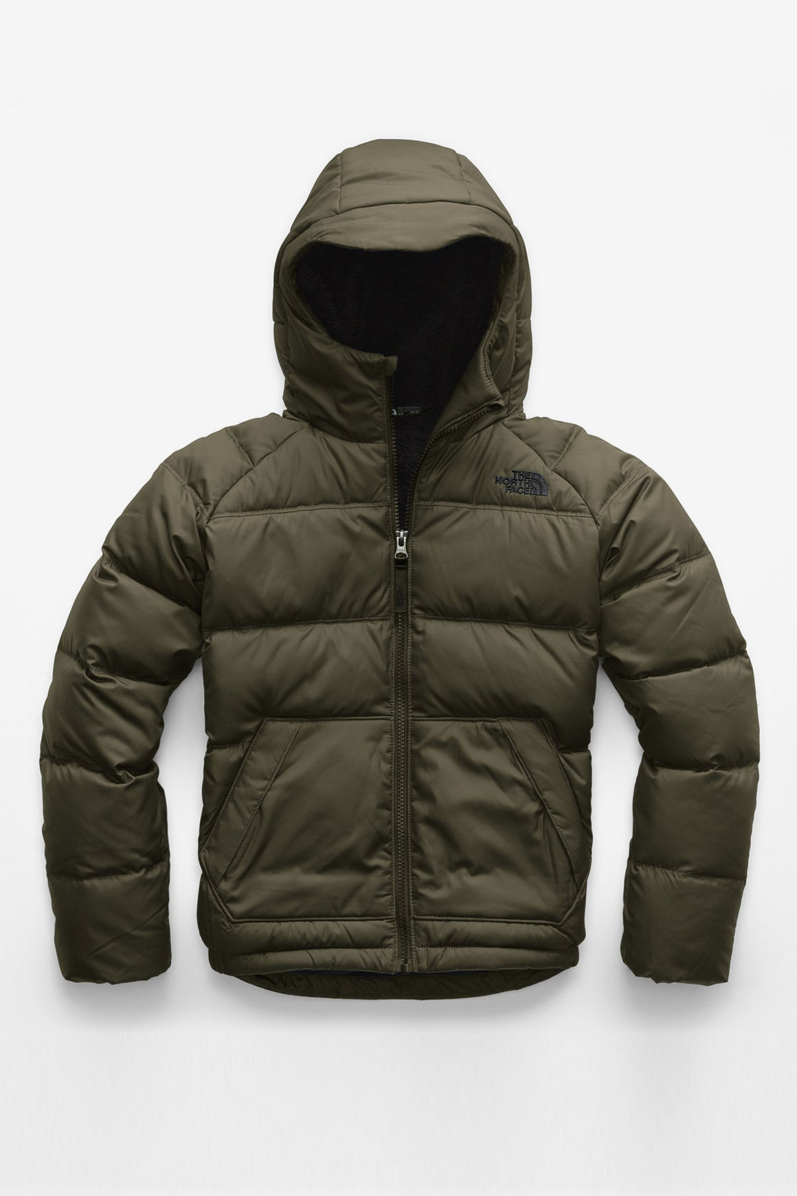 The North Face Boys 2.0 Moondoggy Jacket - Taupe Green