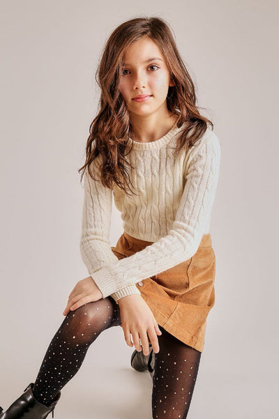 Autumn Cashmere Cable Sweater