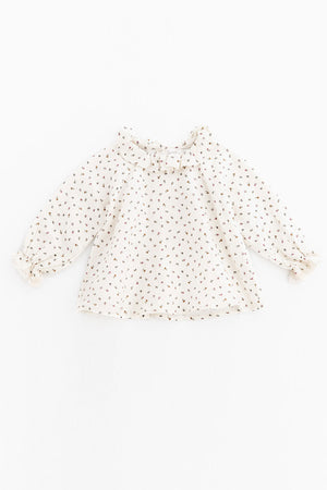 Tocoto Vintage Baby Girls Floral Blouse