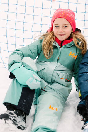 Helly Hansen Jr No Limits Snowpants - Blue Haze