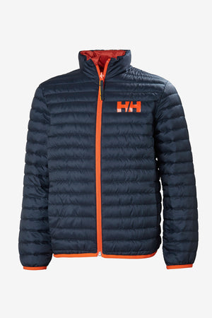 Helly Hansen Jr Barrier Down Insulator - Navy