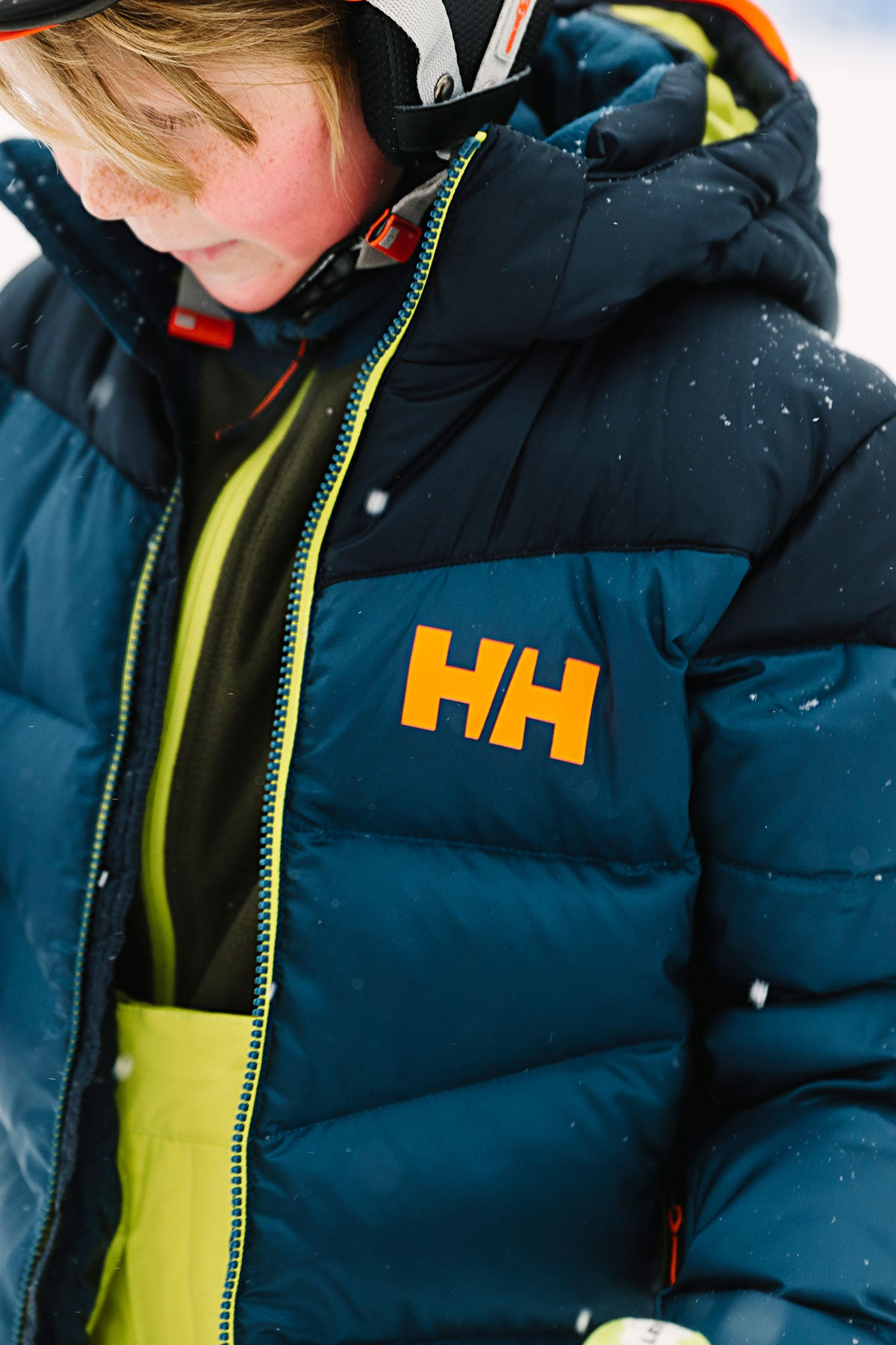 classic fit select for authentic dirt cheap Helly Hansen Jr Isfjord Bpys Jacket - Dark Teal (Size 8 left)