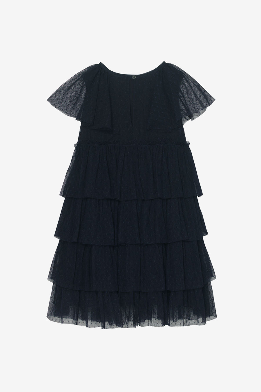 Velveteen Josephine Tiered Dress