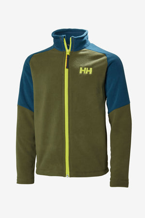 Helly Hansen Jr Daybreaker Fleece Jacket - Ivy Green