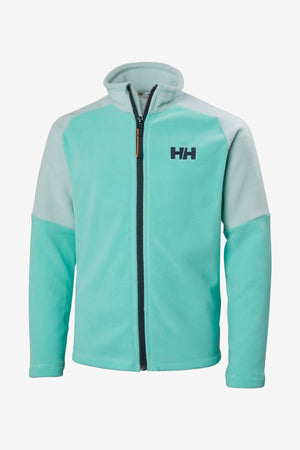 Helly Hansen Jr Daybreaker Fleece Jacket - Pool Blue