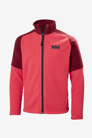 Helly Hansen Jr Daybreaker Fleece Jacket - Goji Berry