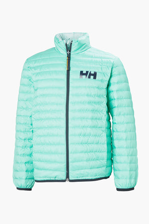 Helly Hansen Jr Barrier Down Insulator - Pool Blue