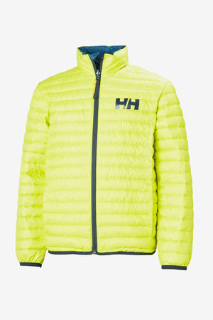 Helly Hansen Jr Barrier Lightweight Down Jacket - Sweet Lime