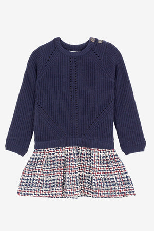 Jean Bourget Marine Knit Dress