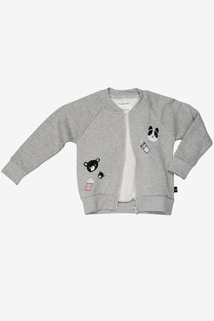 Huxbaby Movie Patch Sweat Jacket