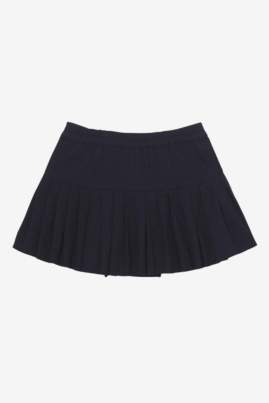Velveteen Naomi Pleated Girls Skirt