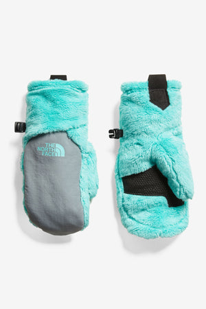 The North Face Girls Osito Mitt - Mint Blue