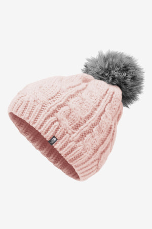 The North Face Youth Oh Mega Pom Beanie - Purdy Pink