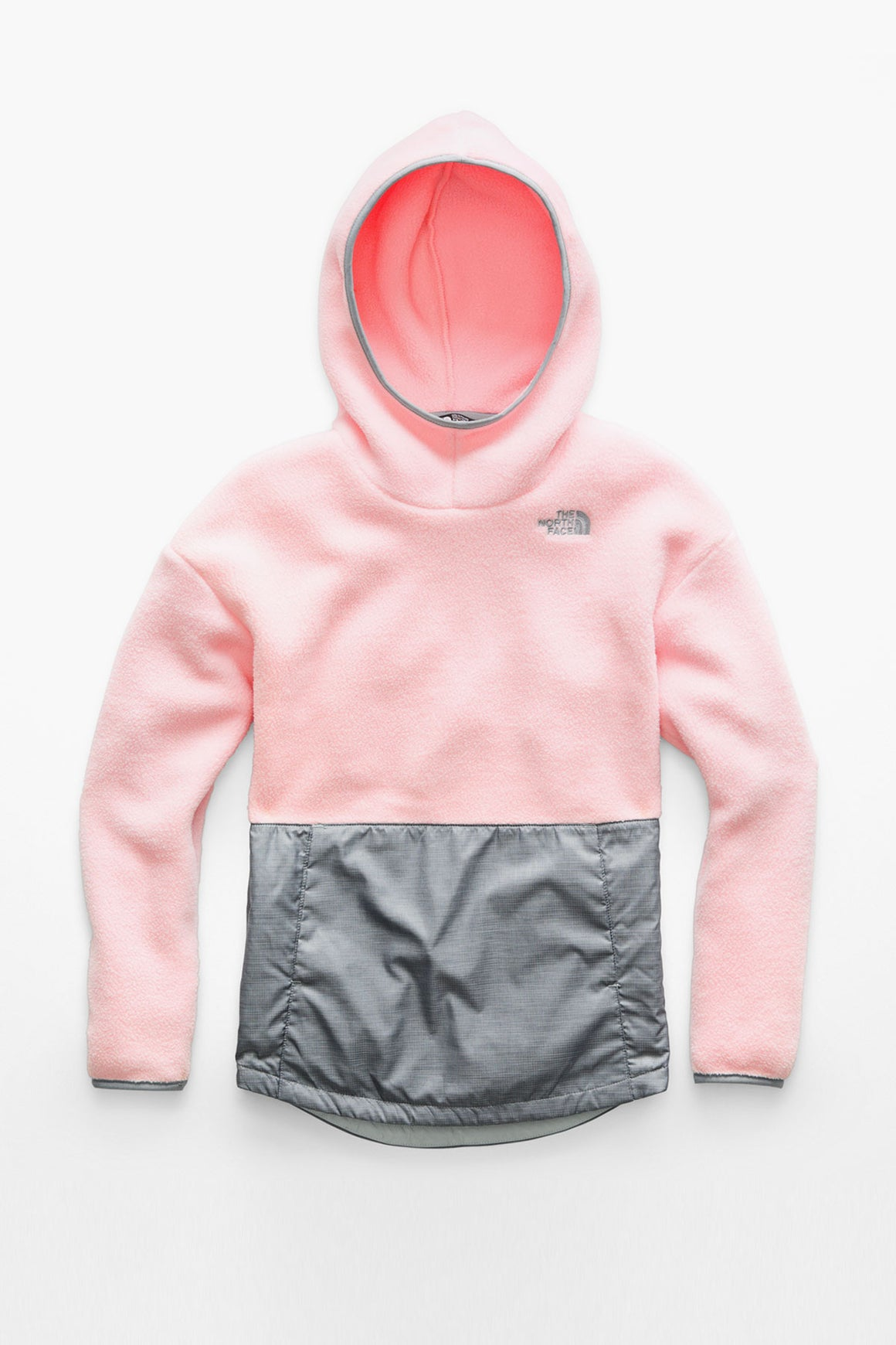The North Face Girls Riit Fleece Pullover - Purdy Pink