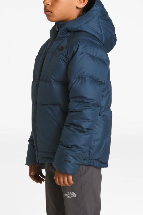 The North Face Boys 2.0 Moondoggy Jacket - Shady Blue (Size 14/16 left)