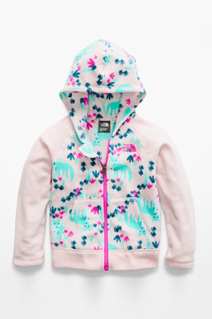 The North Face Toddler Glacier Full Zip Hoodie - Purdy Pink Fox