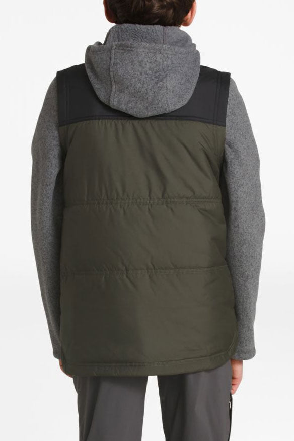The North Face Boys Lyons Vesty Vest - Taupe Green
