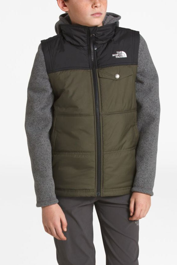 The North Face Lyons Vesty Boys Jacket - Taupe Green (Size 6 left)