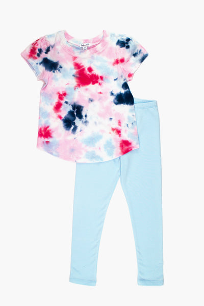 Splendid Tie Dye Girls 2-Piece Set