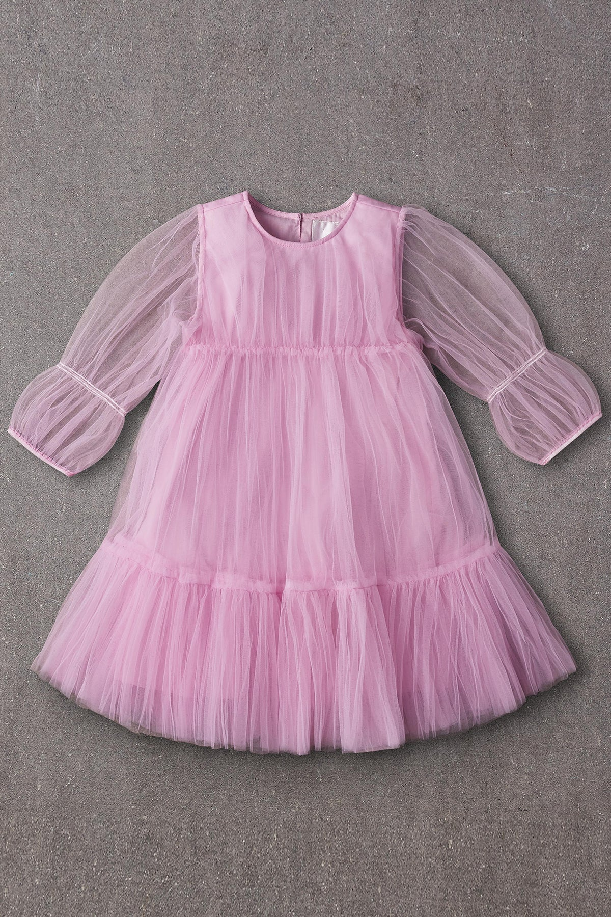 Nellystella Alice Girls Dress - Wisteria