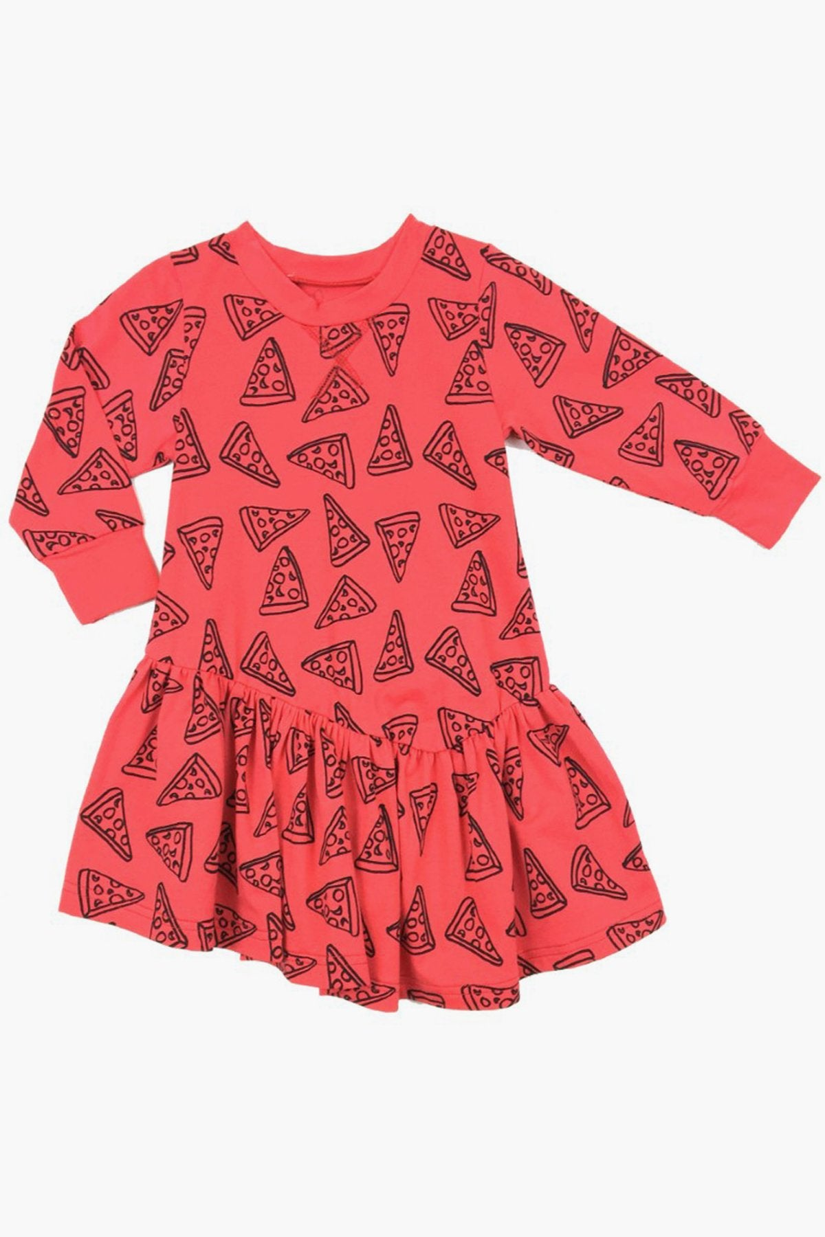 Peas and Queues Avery Girls Dress  - Sauce