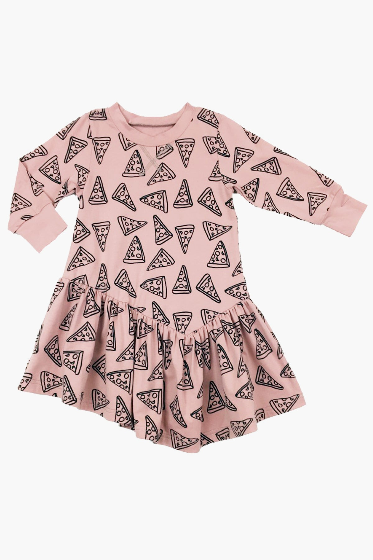 Peas and Queues Avery Girls Dress - Pink