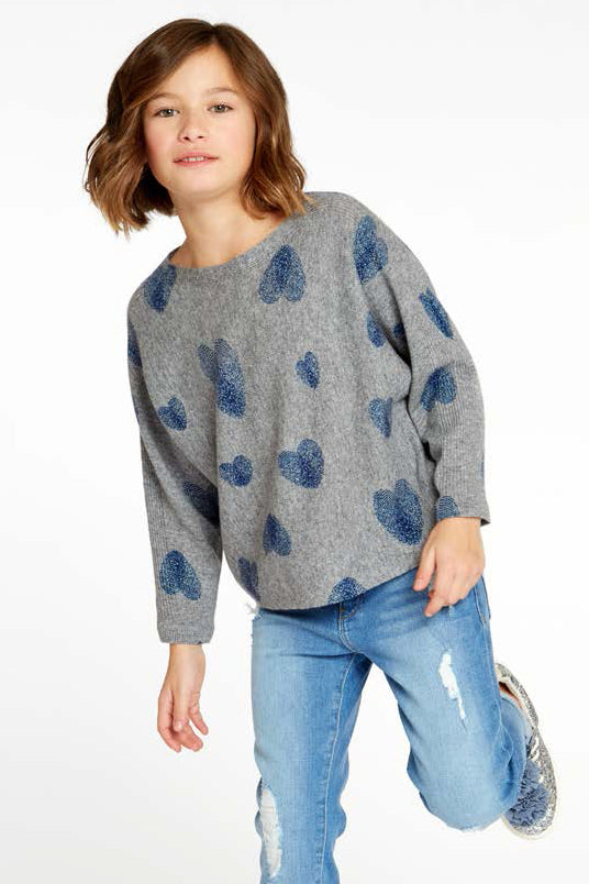 Autumn Cashmere Heart Sweater