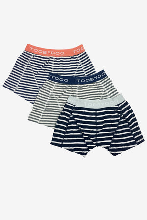 Toobydoo Boys Underwear 3-Pack - Stripe