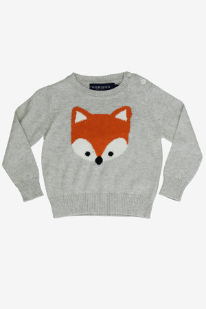 Toobydoo Baby Fox Sweater