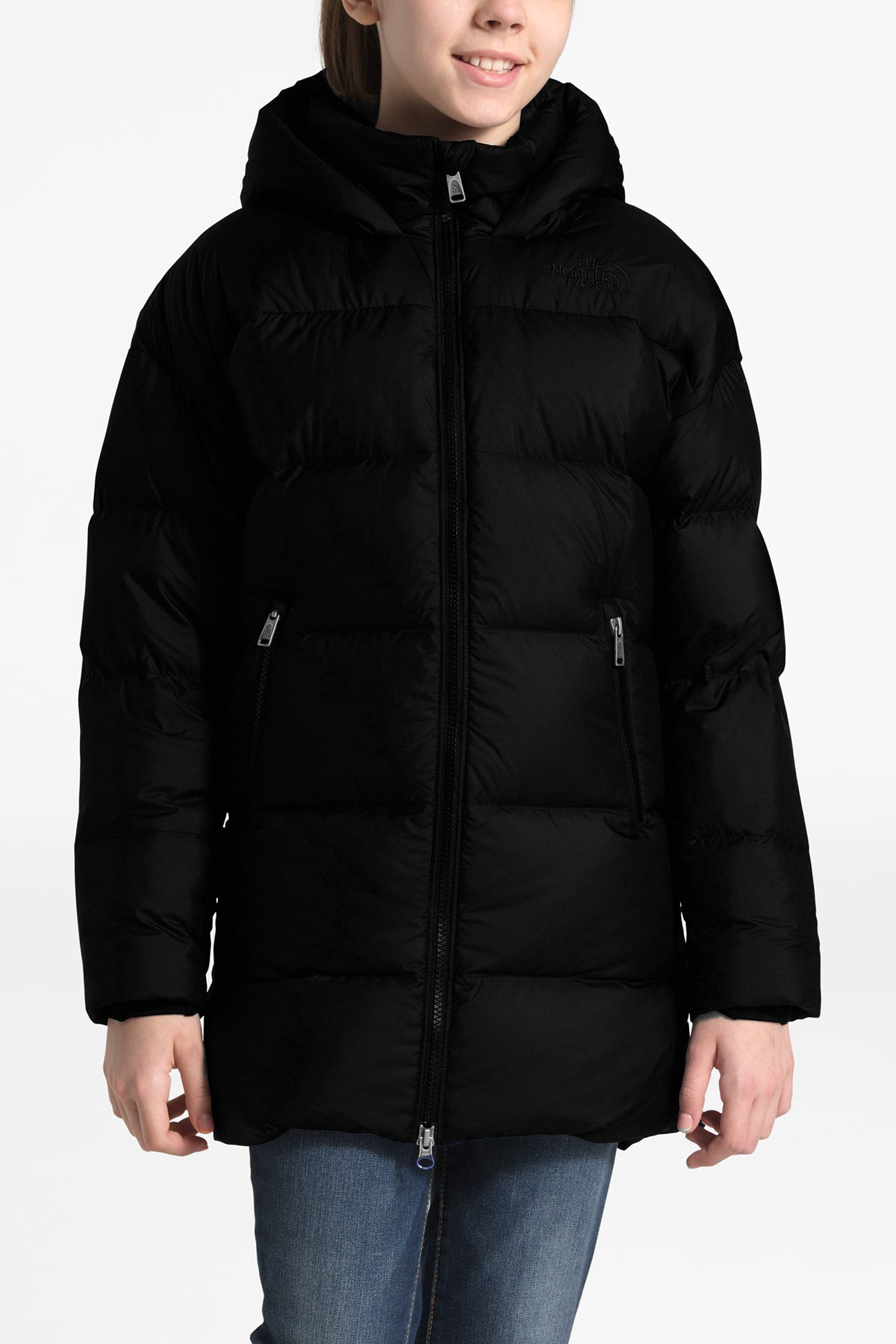 The North Face Girls Gotham Down Parka - Black