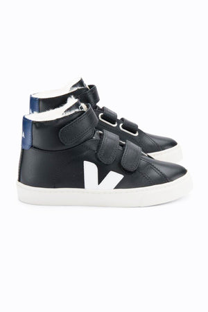 Veja Esplar High Top - Black White Cobalt