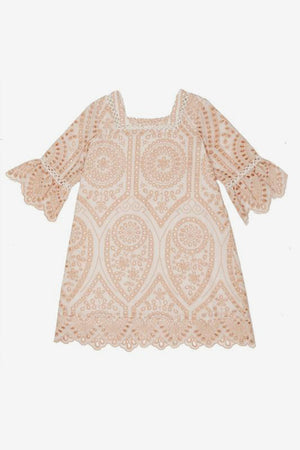 Marlo Hunter Dress - Blush