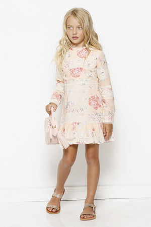 Marlo Hydrangea Floral Cotton Dress