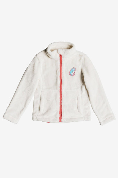 Roxy Igloo Technical Zip-Up Fleece - Egret