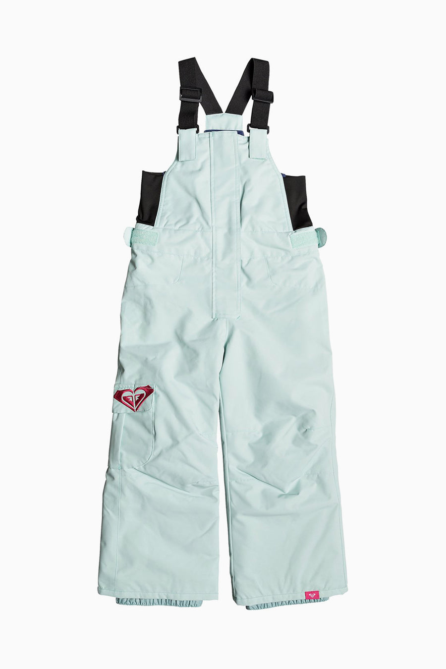 Roxy Lola Bib Snow Pants - Harbor Gray