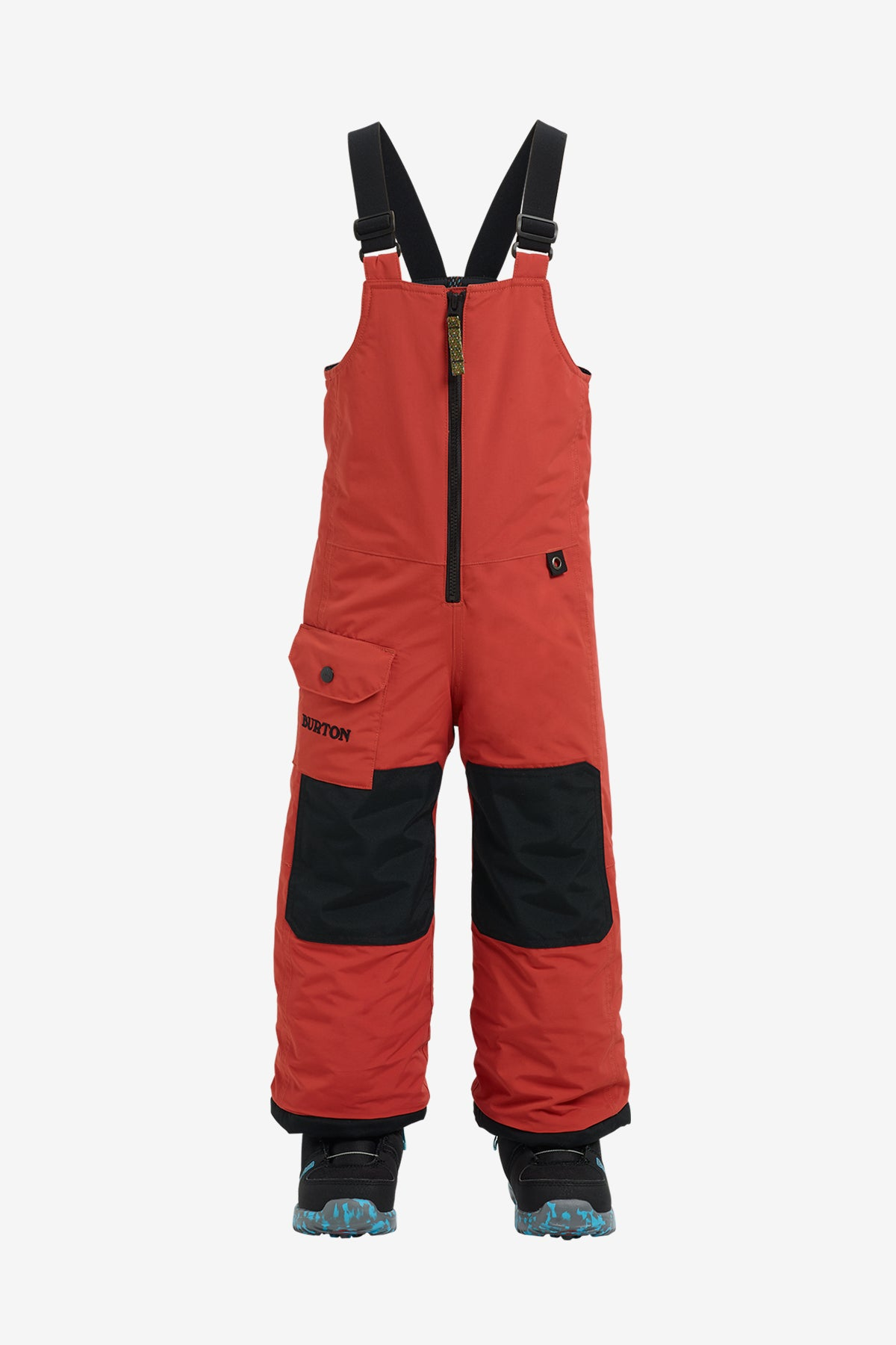 Burton Minishred Maven Bib Pant - Hot Sauce