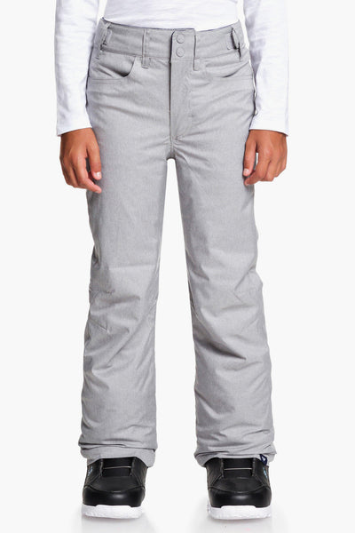 Roxy Backyard Snow Pant - Heather Grey