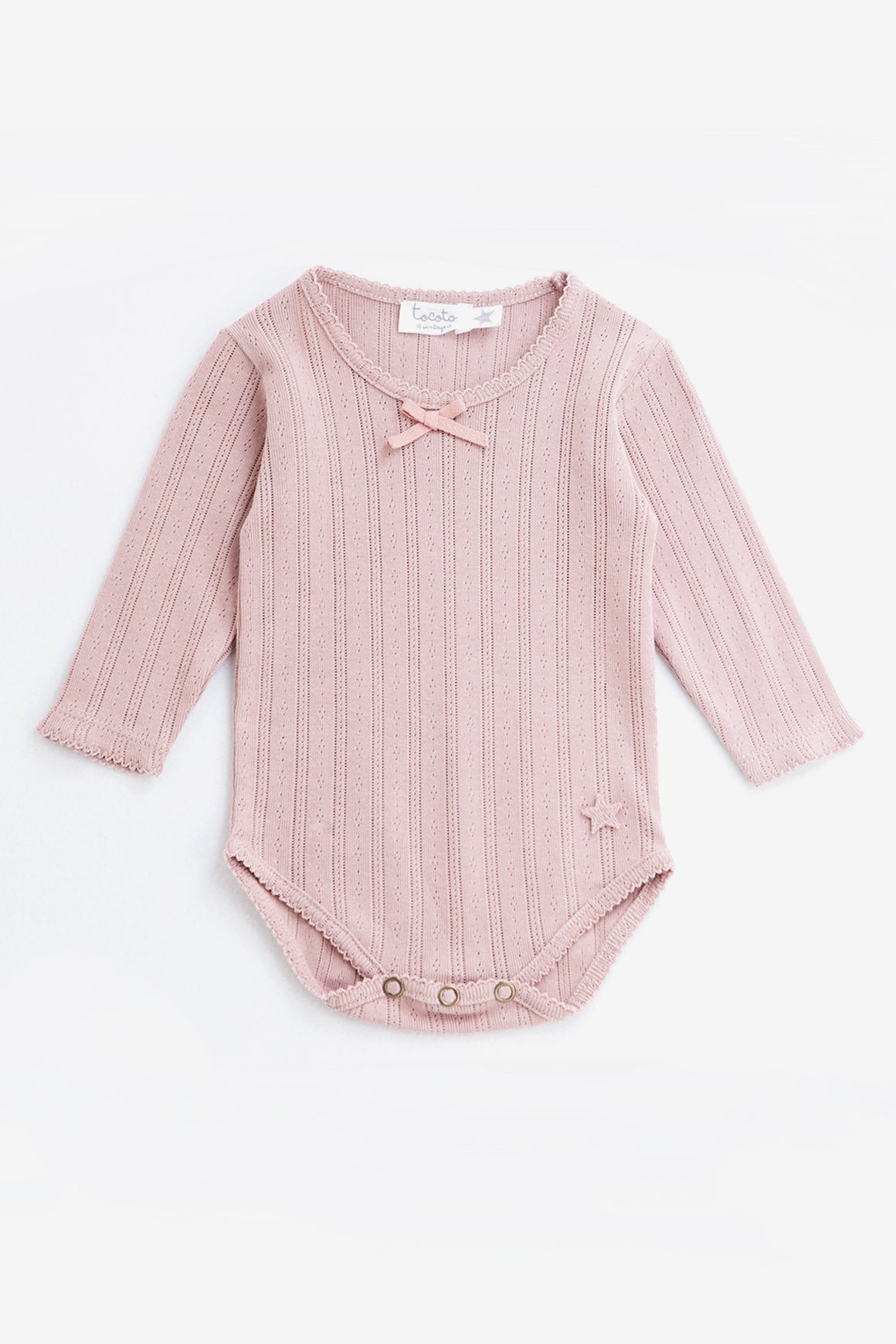 Tocoto Vintage Baby Girls Bodysuit