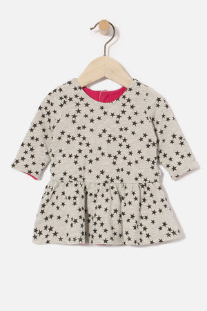 IKKS Reversible Baby Girls Dress (Size 12M left)
