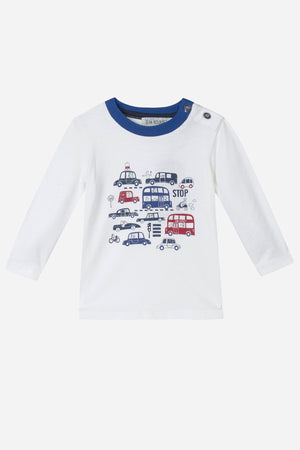Jean Bourget Transportation Baby Tee