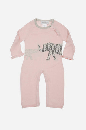 Lucky Jade Bailey Baby Girls Coverall