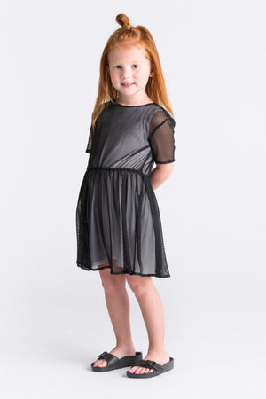 OMAMImini Fit and Flare Dress - Black